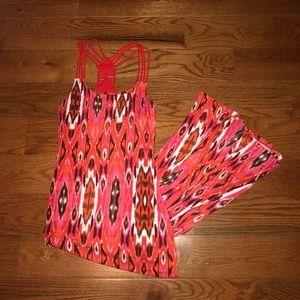 NWOT Cynthia Rowley Printed Maxi Dress